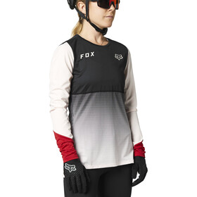 Fox Flexair LS Jersey Women, black/pink